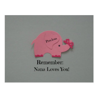 Remember: Nana Loves You! Postcard