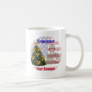 Remember Our Troops Holiday Mug