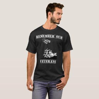 Remember Our Veterans Patriotic Veterans Day Shirt