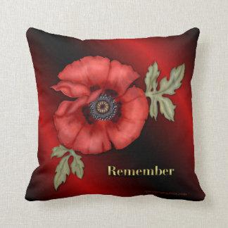 Remember Poppy Pillows