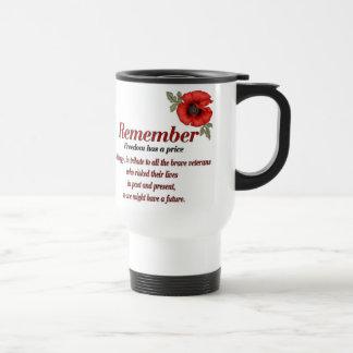 Remember Poppy Mugs