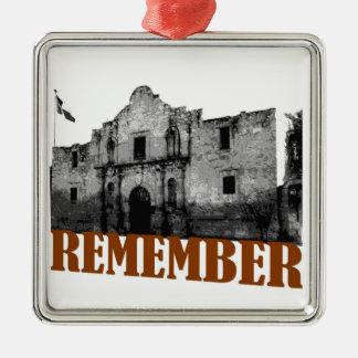 Remember the Alamo Ornament