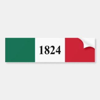 Remember the Alamo Texas State Flag Bumper Sticker