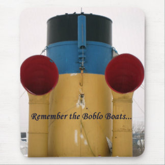 Remember The Boblo Boats - Ste. Claire stacks Mouse Pad