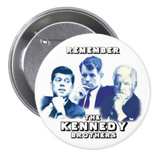 Remember the Kennedy Brothers 7.5 Cm Round Badge