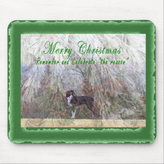 Remember the reason for the season mouse pad