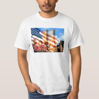 Remember The September 11, 2001 Terrorist Attacks T-Shirt