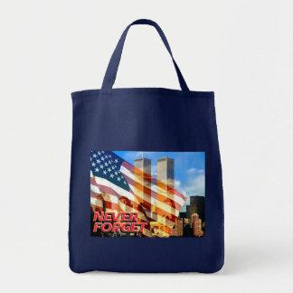 Remember The September 11, 2001 Terrorist Attacks Tote Bag