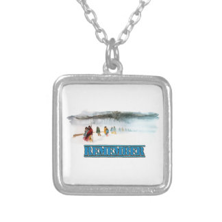 Remember the Trail of Tears Silver Plated Necklace
