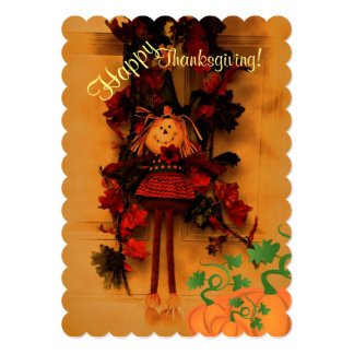 Remember toCount your blessings Thanksgiving card
