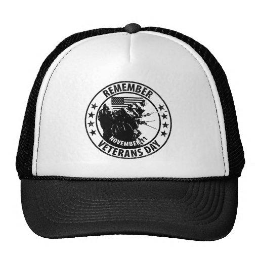 Remember Veterans Day Trucker Hat