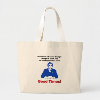 Remember when? large tote bag