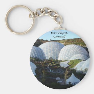 Remember your visit to The Eden Project. Basic Round Button Key Ring