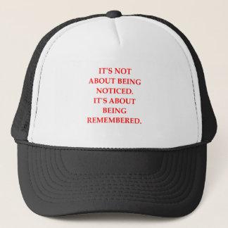 REMEMBERED TRUCKER HAT