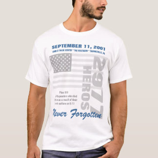 Remembering 9/11 T-Shirt