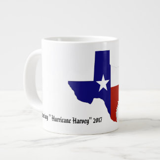 "Remembering ""Hurricane Harvey"" 2017 Large Coffee Mug"