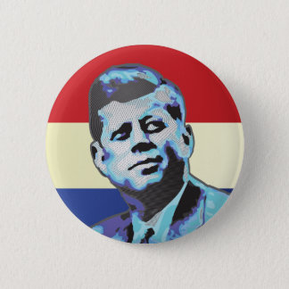 Remembering John F Kennedy 6 Cm Round Badge