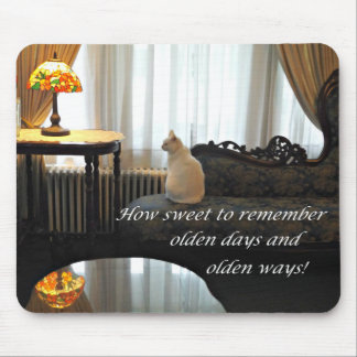 Remembering olden days mouse pad