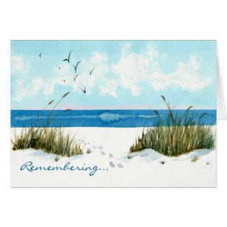 Remembering Sympathy Card