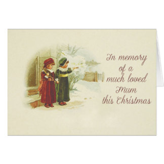 Remembrance Christmas card for Mum