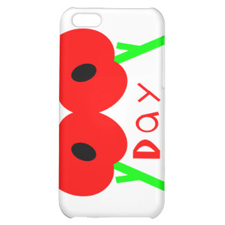 Remembrance Day Armistice Day or Veterans Day iPhone 5C Cover