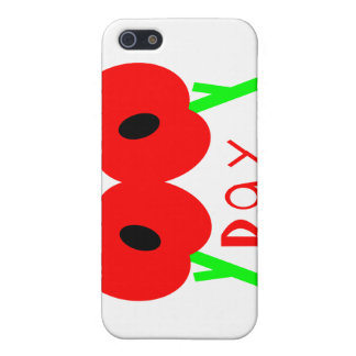 Remembrance Day Armistice Day or Veterans Day Case For iPhone 5