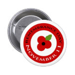 Remembrance Day - Badge Buttons