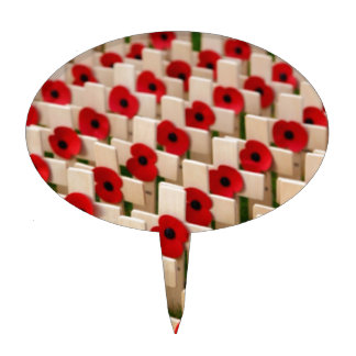 Remembrance Day Cake Topper