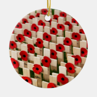 Remembrance Day Ceramic Ornament