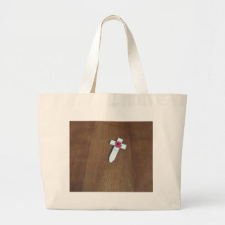 Remembrance Day Cross Tote Bags