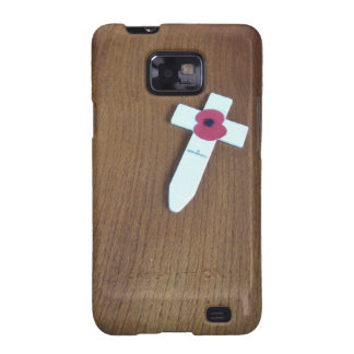 Remembrance Day Cross Galaxy SII Cover