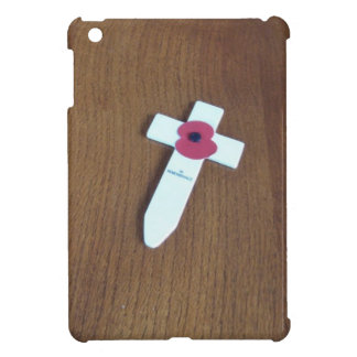 Remembrance Day Cross iPad Mini Cases