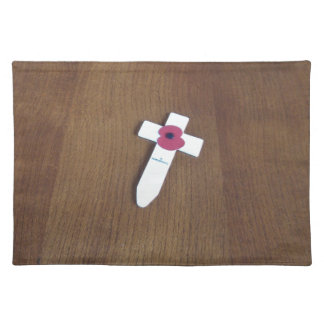 Remembrance Day Cross Placemat