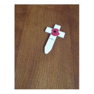 Remembrance Day Cross Post Cards