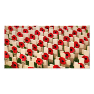 Remembrance Day Customized Photo Card