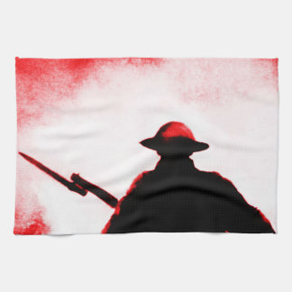 REMEMBRANCE DAY,TROOPS,PAST/PRESENT HAND TOWEL
