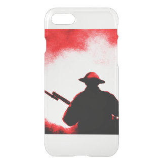 REMEMBRANCE DAY,TROOPS,PAST/PRESENT iPhone 7 CASE