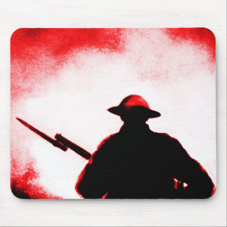 REMEMBRANCE DAY,TROOPS,PAST/PRESENT MOUSE PAD