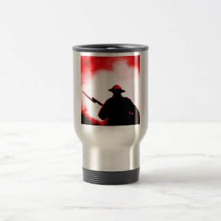REMEMBRANCE DAY,TROOPS,PAST/PRESENT STAINLESS STEEL TRAVEL MUG