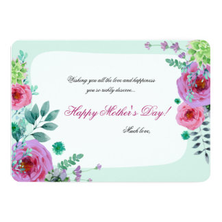 Remembrance Mother's Day Flat Photo Card