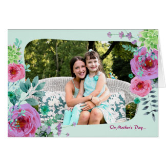 Remembrance Mother's Day Folded Photo Card