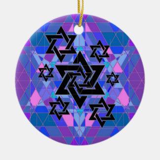 Remembrance of the Holocaust. Ceramic Ornament