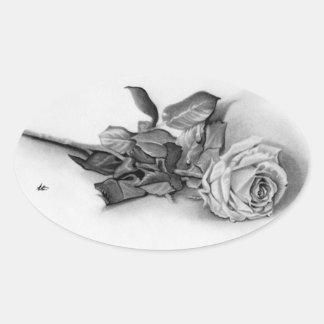 Remembrance Rose Sticker