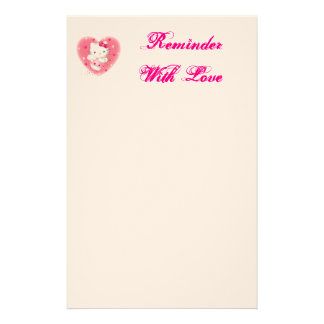 Reminder Notes With Style Personalized Stationery
