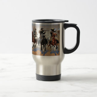 Remington - A Dash for the Timber Travel Mug