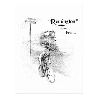 Remington Bicycles Postcard
