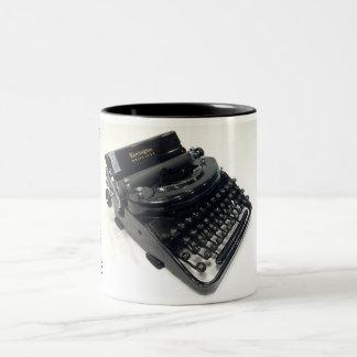 Remington Noiseless portable typewriter Two-Tone Coffee Mug
