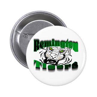 Remington Tigers 6 Cm Round Badge