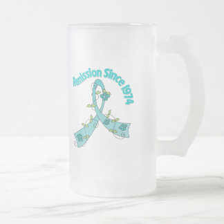 Remission Since 1974 Ovarian Cancer Mugs