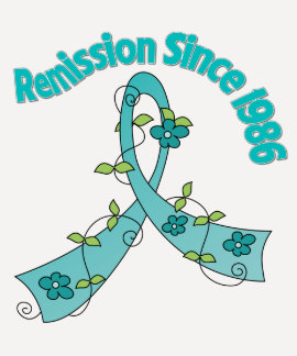 Remission Since 1986 Ovarian Cancer T Shirts